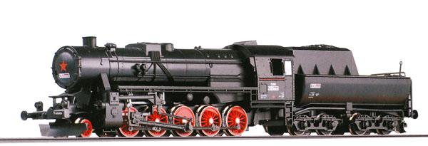 Parní lokomotiva 555.0 ČSD mazutka TT Tillig   Železniční modelářství -  modely železnic, mašinky, modelová železnice.